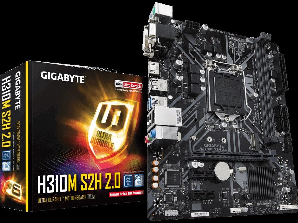 PC Options -> products -> GIGABYTE H310M-H 2 0