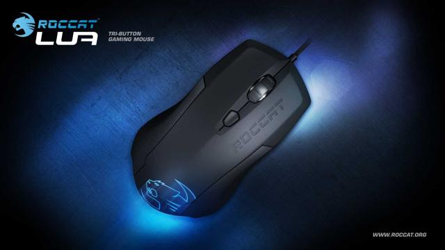 Lua Tri Button Gaming Mouse